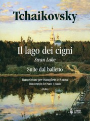 Tchaikovsky, Pyotr Il'yich : Swan Lake. Suite from the Ballet for Piano 4 Hands