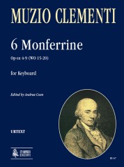 Clementi, Muzio : 6 Monferrine Op-sn 4-9 (WO 15-20) for Keyboard