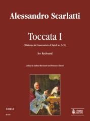 Scarlatti, Alessandro : Toccata I (Biblioteca del Conservatorio di Napoli ms. 9478) for Keyboard