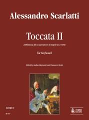 Scarlatti, Alessandro : Toccata II (Biblioteca del Conservatorio di Napoli ms. 9478) for Keyboard
