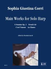 Corri, Sophia : Main Works for Solo Harp