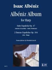 Albéniz, Isaac : Albéniz Album for Harp