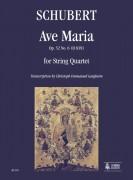Schubert, Franz : Ave Maria Op. 52 No. 6 (D 839) for String Quartet