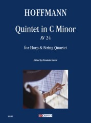 Hoffmann, Ernst Theodor Amadeus : Quintet in C Minor AV 24 for Harp and String Quartet