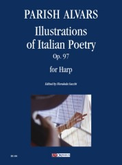 Parish Alvars, Elias : Illustrations of Italian Poetry Op. 97 for Harp