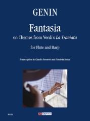 "Genin, Paul Agricole : Fantasia on Themes from Verdi's ""La Traviata"" for Flute and Harp"