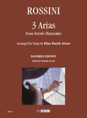 Rossini, Gioachino : 3 Arias from 'Soirée Musicales' arranged for Harp by Elias Parish Alvars