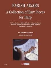 Parish Alvars, Elias : A Collection of Easy Pieces for Harp