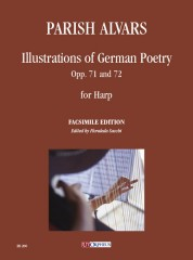 Parish Alvars, Elias : Illustrations of German Poetry Opp. 71 and 72 for Harp