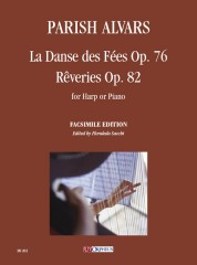 Parish Alvars, Elias : La Danse des Fées Op. 76 - Rêveries Op. 82 for Harp or Piano
