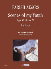 Parish Alvars, Elias : Scenes of my Youth Opp. 42, 48, 56, 75 for Harp