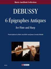 Debussy, Claude : 6 Épigraphes Antiques for Flute and Harp