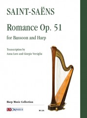 Saint-Saëns, Camille : Romance Op. 51 for Bassoon and Harp