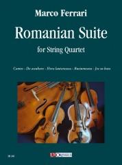 Ferrari, Marco : Romanian Suite for String Quartet