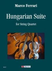 Ferrari, Marco : Hungarian Suite for String Quartet