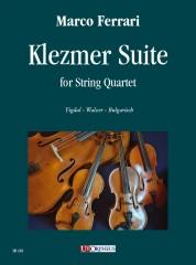 Ferrari, Marco : Klezmer Suite for String Quartet