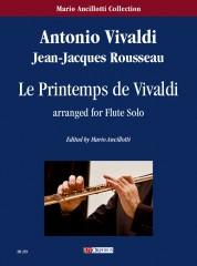 Vivaldi, Antonio - Rousseau, Jean-Jacques : Le Printemps de Vivaldi for Flute Solo