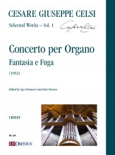 Celsi, Cesare Giuseppe : Concerto per Organo. Fantasia e Fuga (1952)
