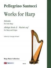 Santucci, Pellegrino : Works for Harp