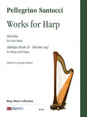 Santucci, Pellegrino : Works for Harp