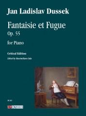 Dussek, Jan Ladislav : Fantaisie et Fugue Op. 55 for Piano