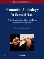 Romantic Anthology. 10 Easy Transcriptions of Favourite Pieces by Celebrated Composers for Flute and Piano