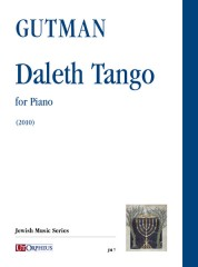 Gutman, Delilah : Daleth Tango for Piano (2010)