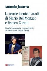 Juvarra, Antonio : Le teorie tecnico-vocali di Mario Del Monaco e Franco Corelli. Ciò che hanno detto e sperimentato del canto i due celebri tenori