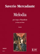 Mercadante, Saverio : Melodia for Harp and Piano