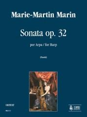 Marin, Marie-Martin : Sonata Op. 32 for Harp