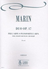 Marin, Marie-Martin : Duo Op. 17 for 2 Harps or Piano and Harp