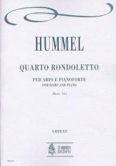 Hummel, Johann Nepomuk : Rondoletto No. 4 for Harp and Piano