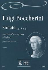 Boccherini, Luigi : Sonata Op. 5 No. 3 for Piano (Harp) and Violin