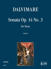 Dalvimare, Martin-Pierre : Sonata Op. 14 No. 3 for Harp