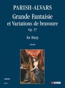 Parish Alvars, Elias : Grande Fantaisie et Variations de bravoure Op. 57 for Harp