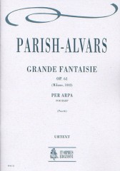 Parish Alvars, Elias : Grande Fantaisie Op. 61 (Milano 1842) for Harp