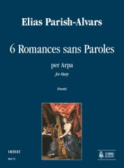 Parish Alvars, Elias : 6 Romances sans Paroles for Harp
