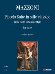 Mazzoni, Nino : Piccola Suite in stile classico for Harp (1961)