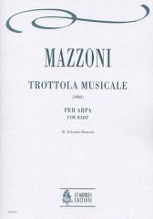Mazzoni, Nino : Trottola musicale for Harp (1982)