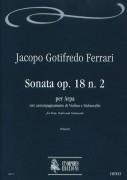 Ferrari, Jacopo Gotifredo : Sonata Op. 18 No. 2 for Arpa, Violin and Violoncello