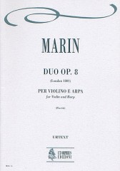Marin, Marie-Martin : Duo Op. 8 for Violin and Harp