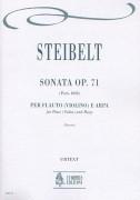 Steibelt, Daniel : Sonata Op. 71 for Flute (Violin) and Harp