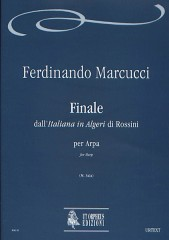"Marcucci, Ferdinando : Finale from Rossini's ""Italiana in Algeri"" for Harp"