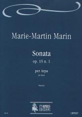 Marin, Marie-Martin : Sonata Op. 15 No. 1 for Harp