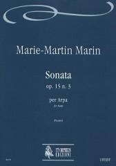 Marin, Marie-Martin : Sonata Op. 15 No. 3 for Harp