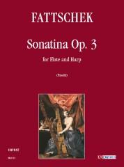 Fattschek, Bernard : Sonatina Op. 3 for Flute and Harp