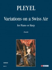 Pleyel, Ignaz : Variations on a Swiss Air for Piano or Harp