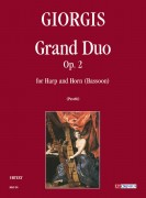 Giorgis, Giuseppe : Grand Duo Op. 2 for Harp and Horn (Bassoon)