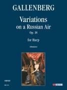 Gallenberg, Robert : Variations on a Russian Air Op. 18 for Harp