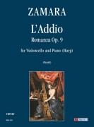Zamara, Antonio : L'Addio. Romanza Op. 9 for Violoncello and Piano (Harp)